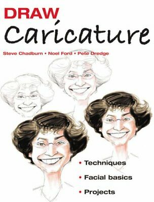 DRAW CARICATURE: TECHNIQUES*FACIAL BASICS*PROJECTS By Noel Ford *Mint Condition*