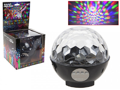 WIRELESS BLUETOOTH DISCO BALL PARTY MUSIC SPEAKER LED LIGHT SHOW- iphone android