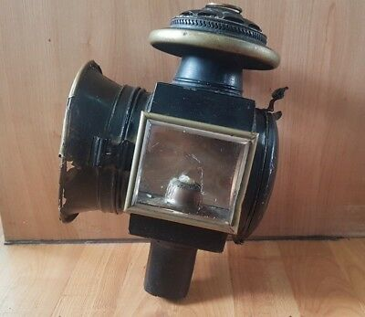 Large Antique Vintage Carriage Coach Lantern Lamp Outdoor - Ideal for Conversion