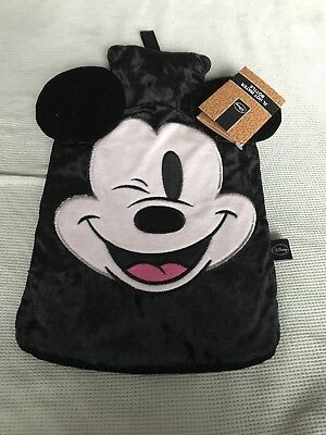 Disney Primark Micky Mouse Hot Water Bottle and Cover BNWT