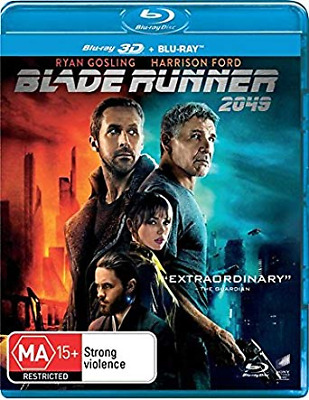 Blade Runner 2049 3D : NEW 3D + 2D Blu-Ray