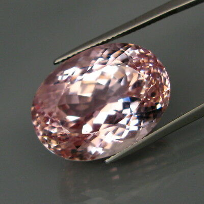 35.00Ct.Ravishing Color&Full Fire! Natural GIANT Pink Kunzite 100%Untreated