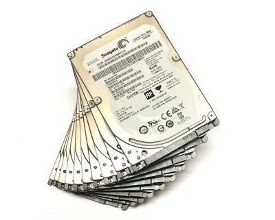 "LOT OF 10 Seagate 500GB 2.5"" SATA Hard Drive 7200RPM 7mm"