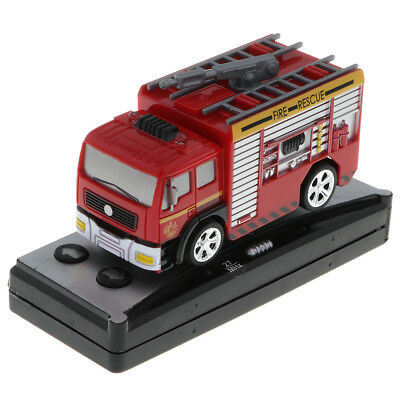 1:58 Remote Control Fire Engine - RC Warning Light Truck Rescue Vehicle Toys
