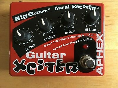 Aphex Xciter – Aural Exciter and Big Bottom for Guitar