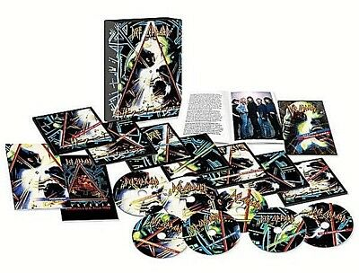 Def Leppard - Hysteria - 30th Anniversary Super Deluxe 5CD/2DVD NEW SEALED