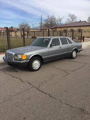 1990 Mercedes-Benz 400-Series 420SEL 1990 Mercedes-Benz 420 Series 420SEL 194,000 Miles   8 Cylinder Engine Automatic