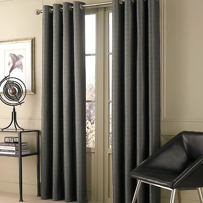 "Valeron Stradivari 84""  1 Window Curtain Panel - Charcoal"