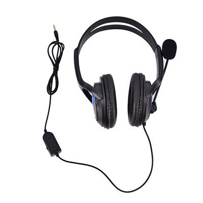 Wired Gaming Headset Headphones with Microphone for PS4 PC Laptop Mac Phone SP