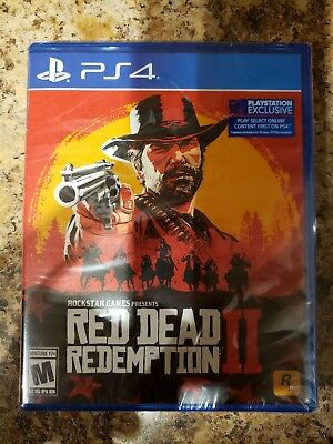 NEW / SEALED Red Dead Redemption 2 PS4 / Free Shipping!