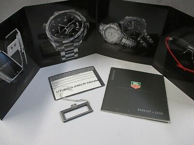 Tag Heuer Watch International Warranty Guarantee Booklet Card Brochure & Tag Set