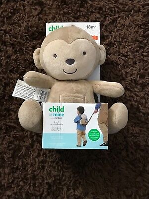 New Carter's Harness Buddy 18 months unisex baby toddler leash baby boy