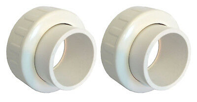 """Union Fitting Slip 2"""" for Splapool Pump and Pooline Filters 2pk"""