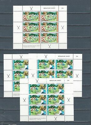 New Zealand selection of mnh stamps and sheets - Health - SPORTS - 2 scans