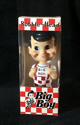 Bob's Big Boy Bobble Head Figure 2001 New in Box Holiday XMAS Gift Bobblehead