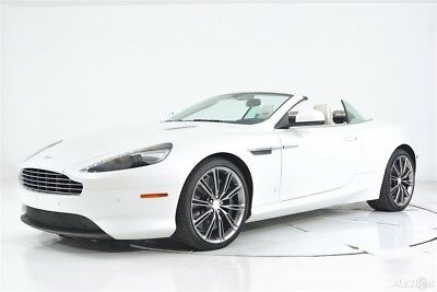 2014 Aston Martin DB9 Volante Automatic Q Satin Paint Exclusive Balmoral Leather Bang Olufsen Beosound Piano Black
