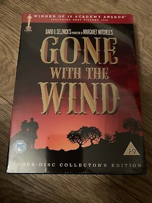 Gone With The Wind. DVD, 4-Disc Collector's edition. Sealed. New.