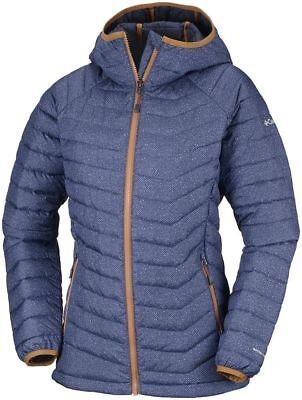 COLUMBIA Powder Lite WK1499469 Insulated Warm Down Jacket Hooded Womens All Size