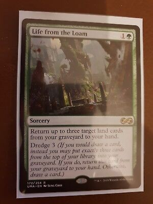Life from the Loam. Rare Sorcery. Ultimate Masters. MTG