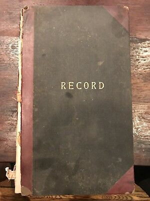 Journal Hall of Adamstown Maryland Rebekah Lodge No. 64 I.O.O.F Odd Fellows 1921