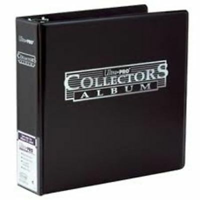 "Ultra Pro 3"" Collectors Collector's Trading Card  Album Black Binder"