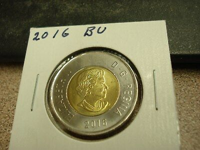 2016 - Canada - Brilliant Uncirculated $2 - Canadian two dollar coin toonie