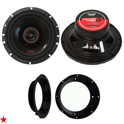 Cerwin Vega 6.5 Inch Car Motorcycle Speakers For Harley Davidson W Adapter Kit