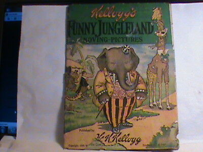 Antique Book Kellogg's Funny Jungleland Moving-Pictures 1909 by W K Kellogg