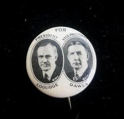 1924 Coolidge & Dawes Presidential Political Campaign - Whitehead And Hoag Co.