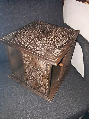 Antique Revolving,   Rotating Table Top  Book Case