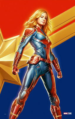 "Captain Marvel ( 11"" x 17"" ) Movie Collector's Poster Print (T3) - B2G1F"