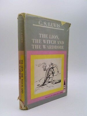 The Lion Witch and Wardrobe CS Lewis 1961 Macmillan 9th Chronicles of Narnia
