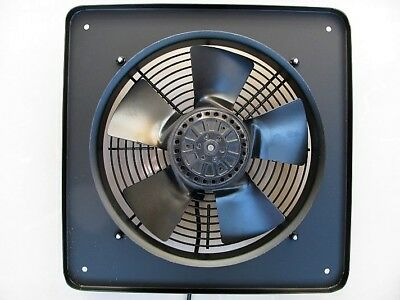 Industrial Extractor Fan 200mm, 8 inch, 240V, 2500 rpm