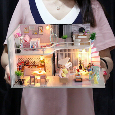 LOL SURPRISE DOLL HOUSE Made with REAL WOOD - SURPRISES !!Children Birthday Gift