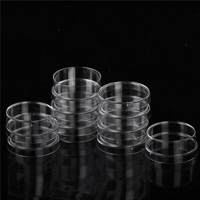 10x Sterile Polystyrene Plastic Petri Dishes Plate With Lids 35x15mm BLIS