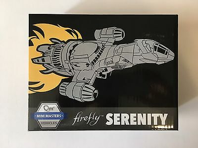 Loot Crate Firefly Serenity Mini Masters Vehicles NEW QMX