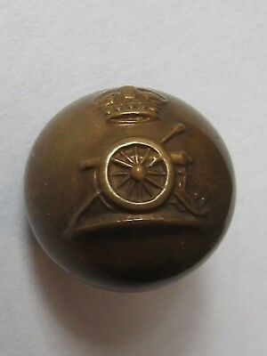 Ww1 / Ww2 vintage Royal Horse Artillery army military ball shaped button