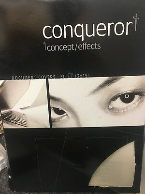 Conqueror Concept Effects A4 Document Covers Stylish Quality