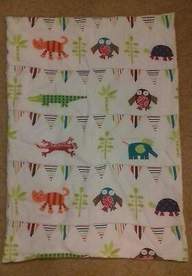 Baby / Toddler 4 Tog Funky Friends Quilt