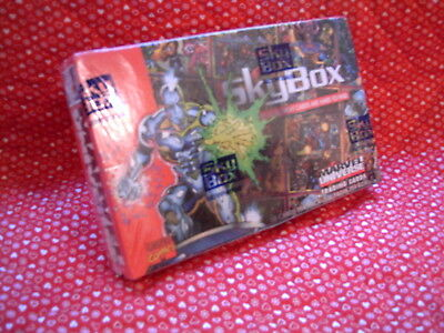 Marvel Universe Series Iv Skybox 1993 Trading Cards, Factory Sealed Box