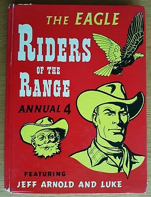 Eagle Annual 4 Riders of the Range Children's Hardback