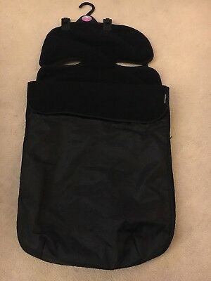 Mothercare Universal Black Cosy Toes Fleece Lining and Waterproof