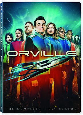 Orville: Season 1 (2018, DVD NEW)4 DISC SET