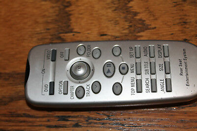 OEM Toyota Lexus Rear Seat Entertainment Remote Control  86170-45020
