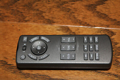 OEM Toyota Lexus Rear Seat Entertainment Remote Control  86170-60120