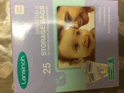 Lansinoh Breastmilk Storage Bags. Brand New. Never opened.
