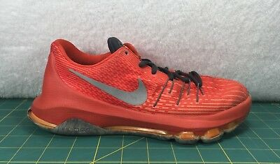 56523d7bf974 Nike KD Kevin Durant 8 Court Glider Orange Marble Basketball Shoes  Sneaker~Sz 7Y
