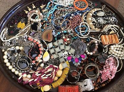 Large 6 + Lbs Lot Of Jewelry For Wear Or Resale # 6