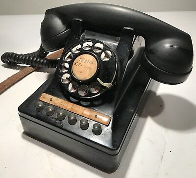 Vintage Western Electric Multi-Line Business Office Telephone Rare! Phone