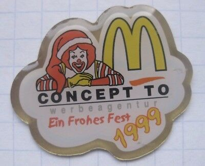 M / RONALD CONCEPT TO / Frohes Fest 1999..........McDONALD`S - Pin (165c)